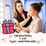 Ajándékutalvány – 4 órás sminktanácsadás